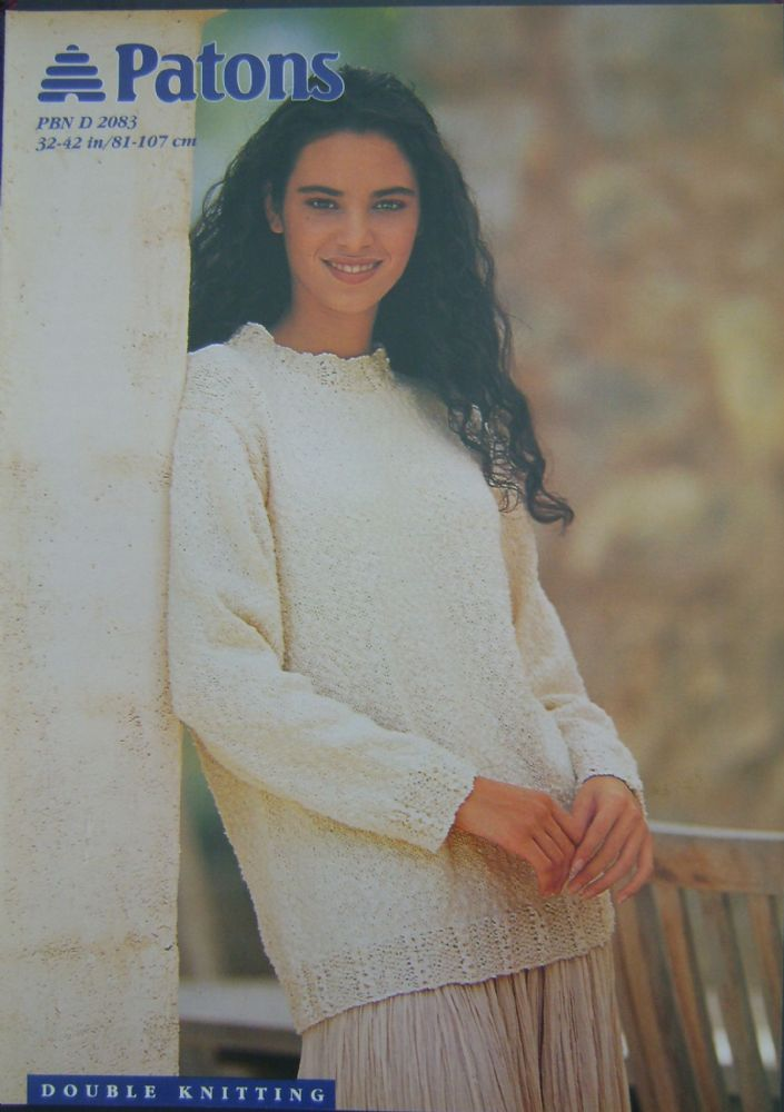 Patons Knitting Pattern 2083